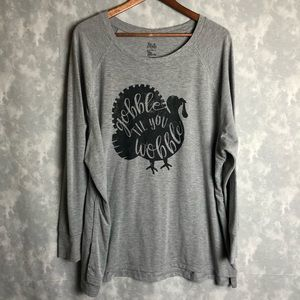 State of mine gobble thanksgiving long sleeve
